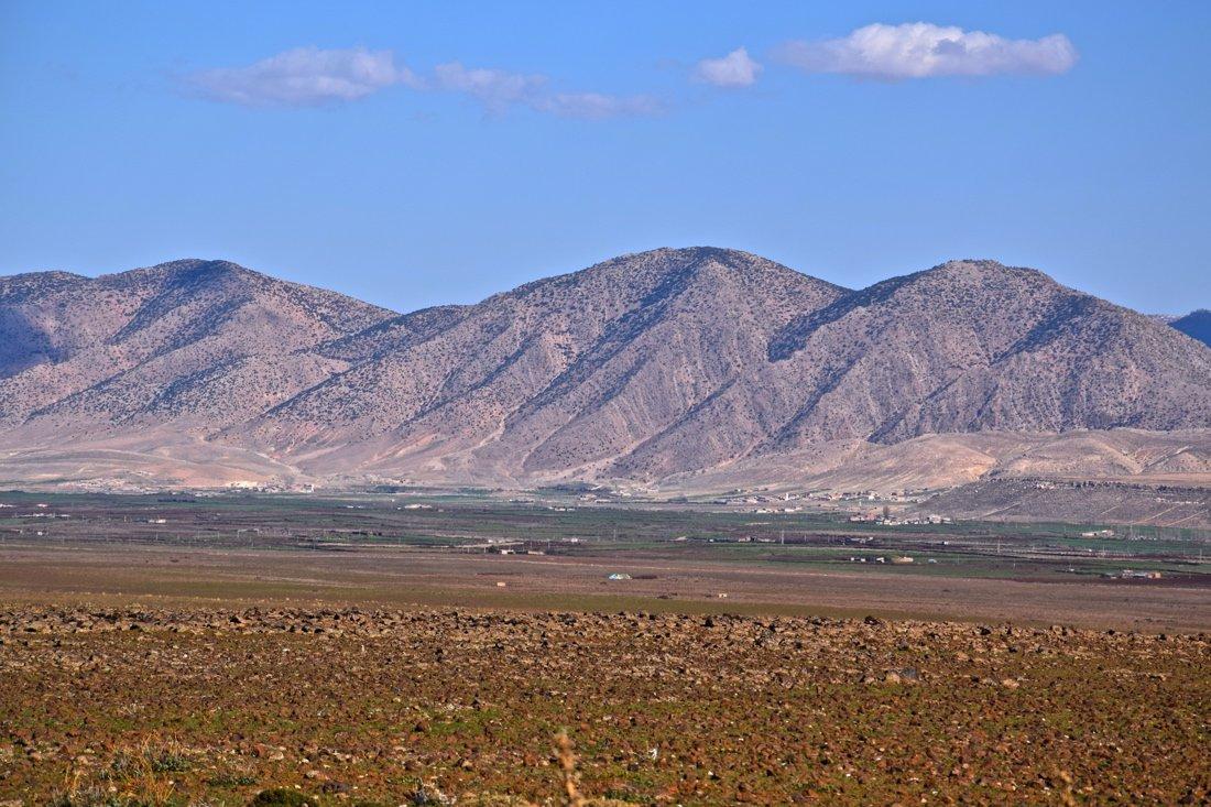 Montagnes dans le Moyen Atlas