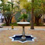 L'un des patios du Riad Fès