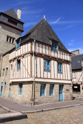 Maison typique à Quimper