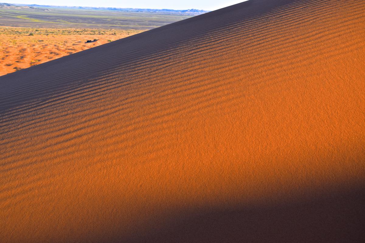 Sable des dunes de Merzouga