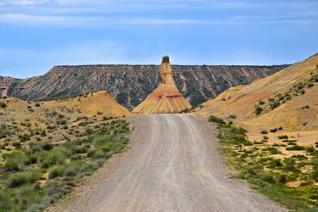 On the road: Bardenas Reales!