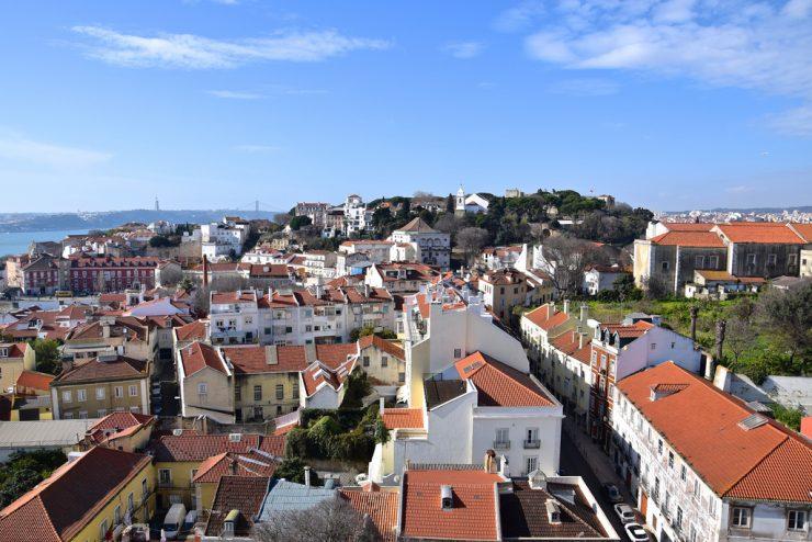 Panorama depuis le Monastère Saint Vincent de Fora