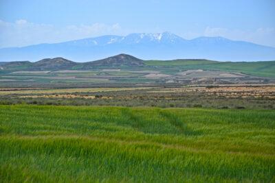 Paysage des environs du désert des Bardenas