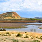 Paysages variés du désert des Bardenas