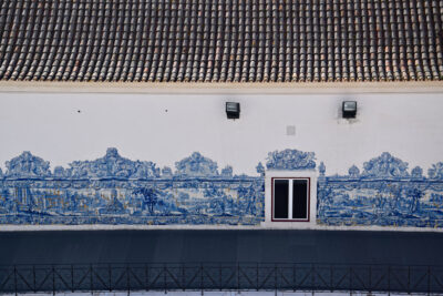 Azulejos au Monastère Saint Vincent de Fora à Lisbonne