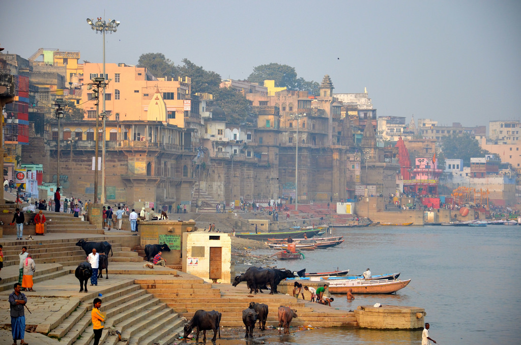 Agitation sur les ghats