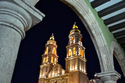 Campeche by night