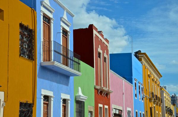 Campeche, ville colorée