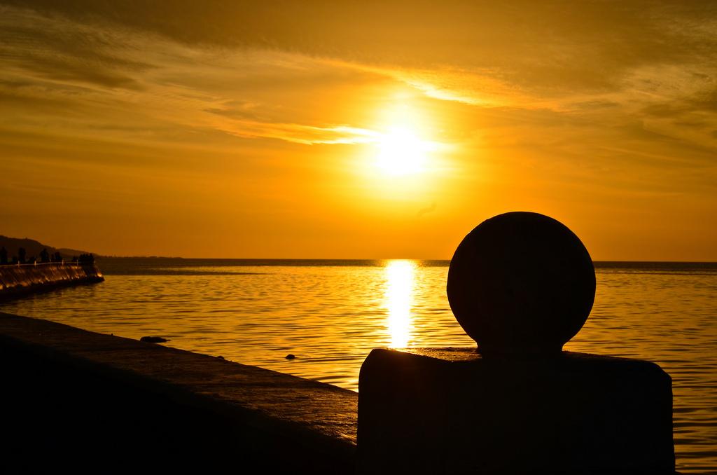 Coucher de soleil sur le golfe du Mexique