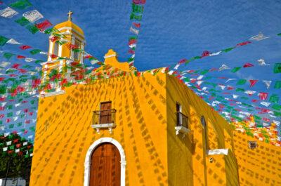 Eglise Guadalupe à Campeche