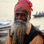 Holyman à Varanasi