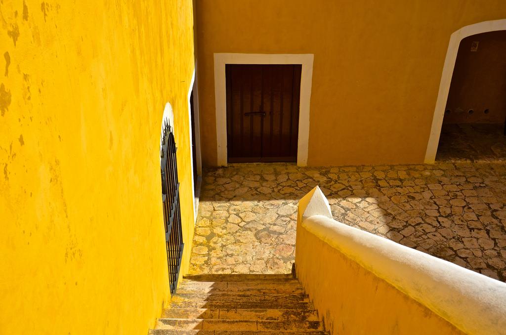 Intérieur d'un fort de Campeche