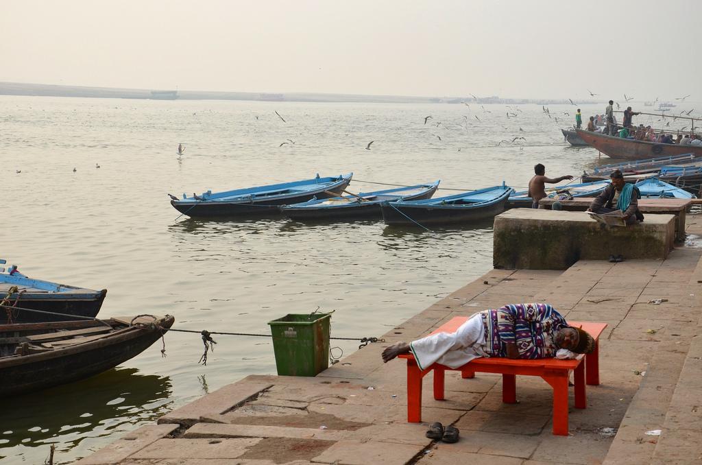Les ghats de Varanasi: lieu de vie!