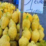 Sur un marché de Palerme