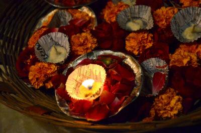 Offrande sur le Gange