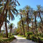 Parc agréable à Palerme
