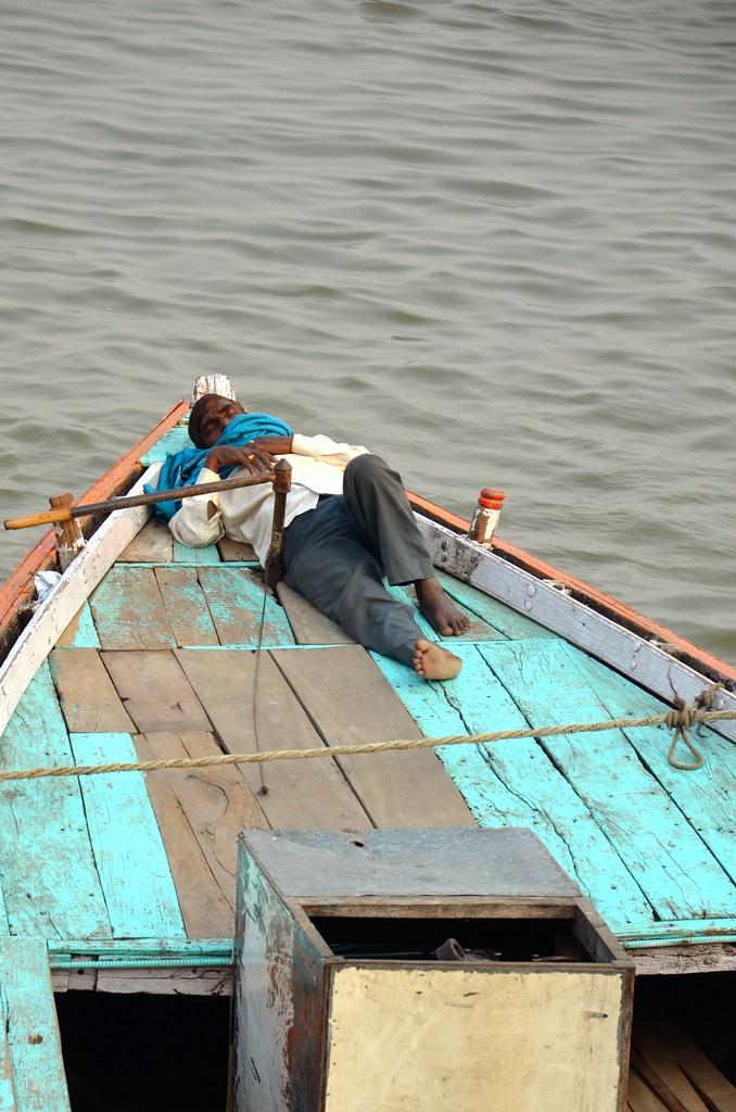 Repos sur le Gange