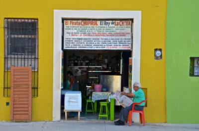 Restaurant typique à Campeche