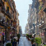 Une rue du centre de Palerme