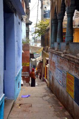 Ruelle de Varanasi