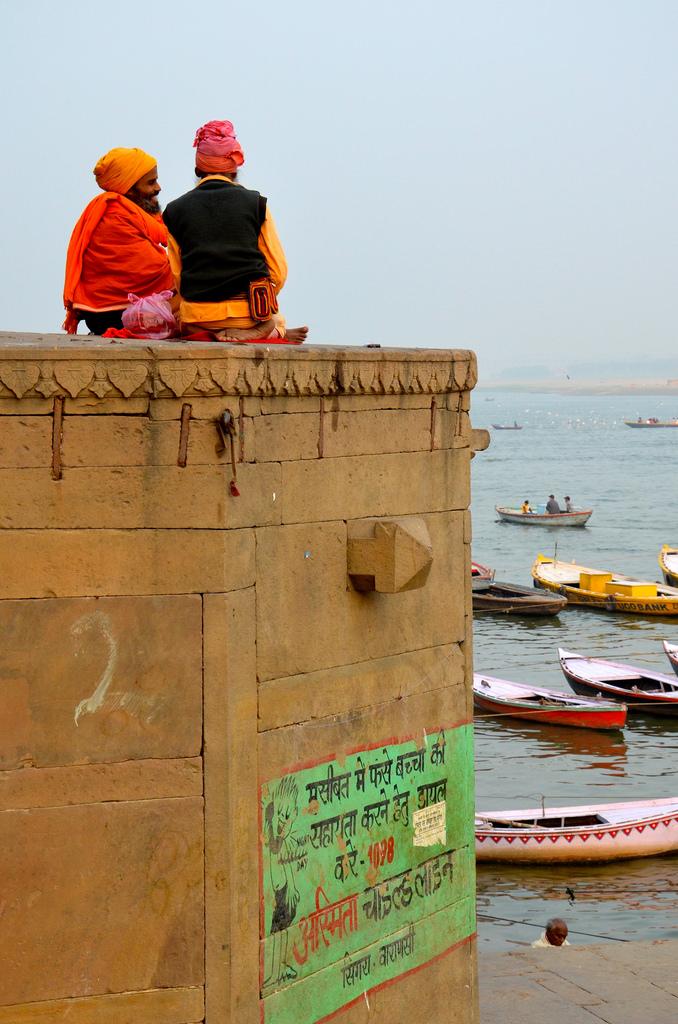 Sadhûs à Varanasi