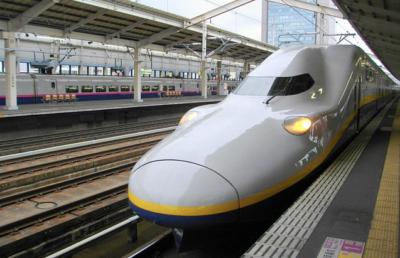 Shinkasen également appelé bullet train