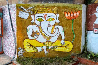 Street art à Varanasi