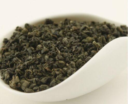 Thé vert gunpowder pour thé à la menthe