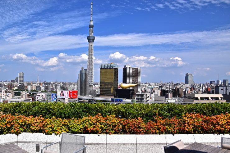 Asakusa depuis The Gate hotel