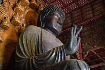 Bouddha du temple Todai-ji de Nara