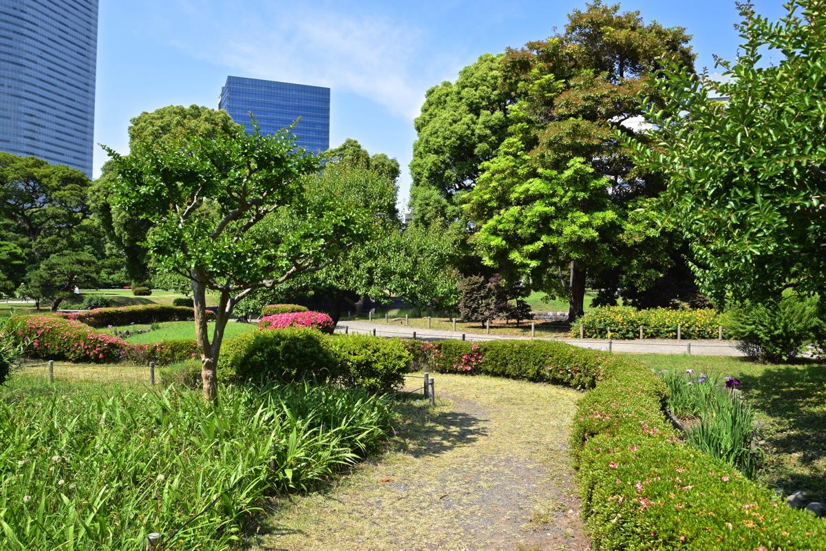 Hamarikyu garden à Tokyo