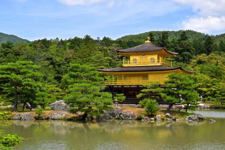 Kinkakuji, pavillon d'or à Kyoto