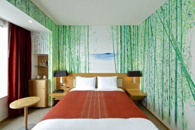 Bamboo artist room au Park Hotel Tokyo