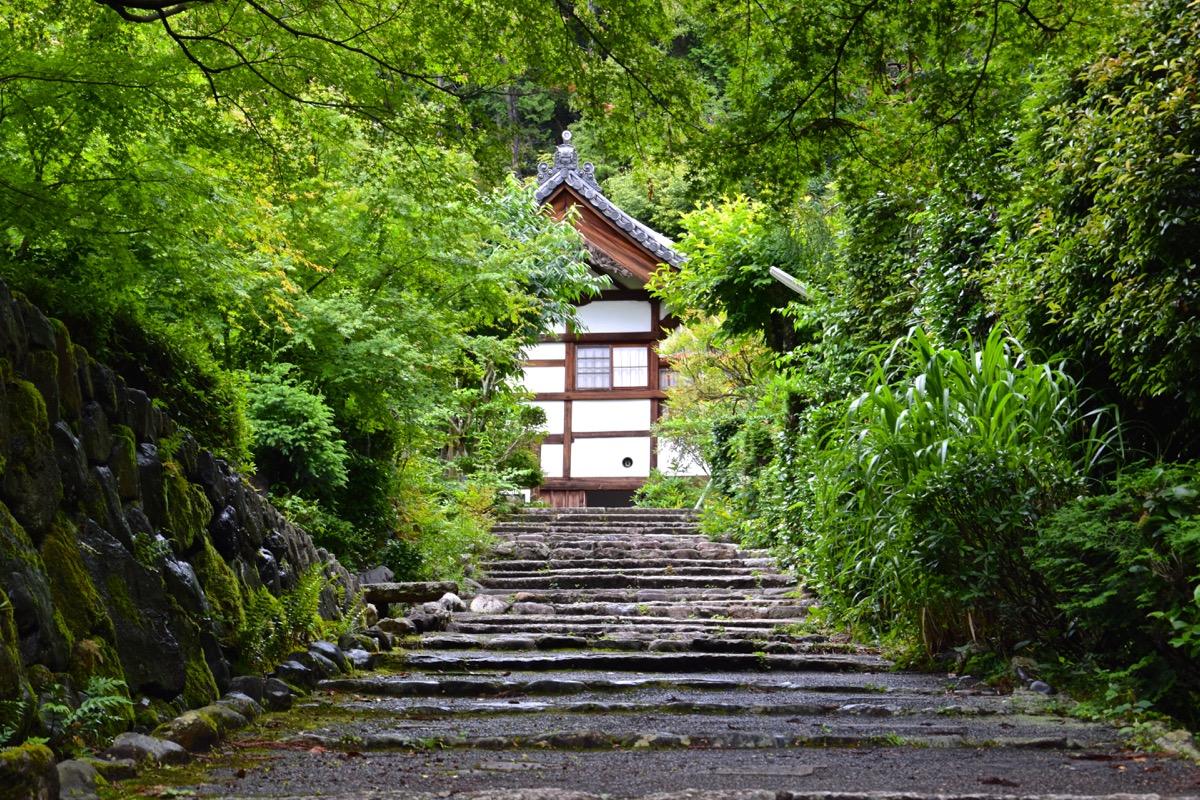 Entrée du temple Shodenji à Kyoto