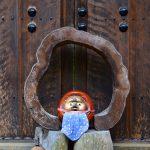 Dans le jardin du temple Shodenji