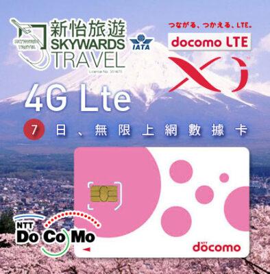 3G au Japon avec NTT DoCoMo