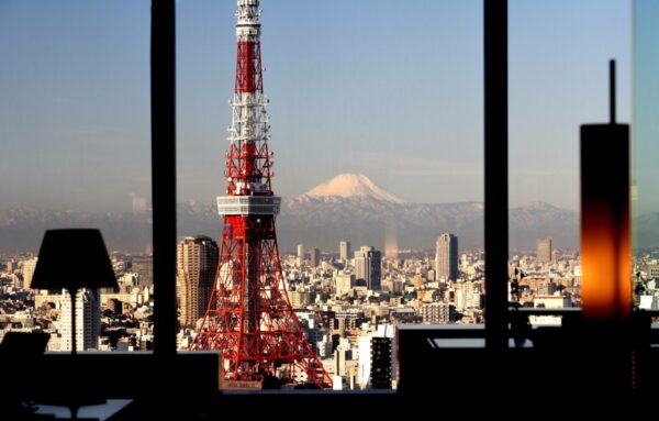 Panorama depuis le lobby du Park Hotel Tokyo