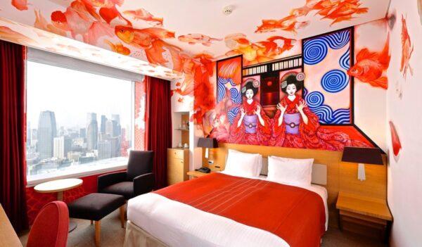 Park Hotel Tokyo et ses 'Artist rooms'