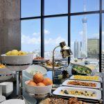 Petit déjeuner à l'hôtel The Gate Kaminarimon