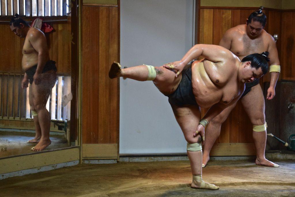 Etirements de sumo
