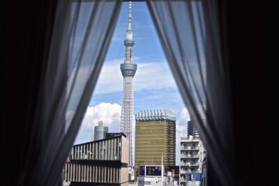 View from The Gate Hotel - Tokyo