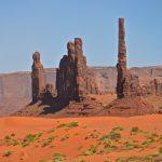 Aiguilles à Monument Valley