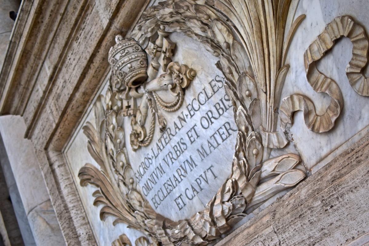 Basilique du Latran à Rome
