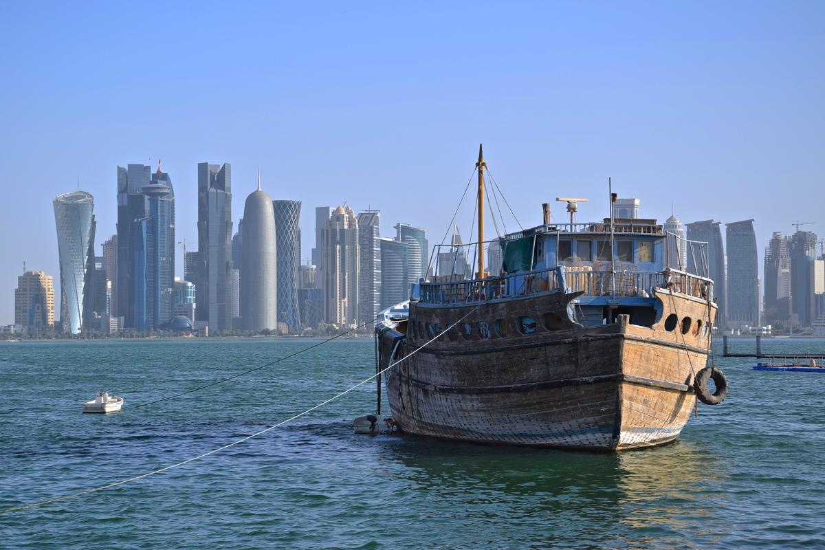 Bateau traditionnel à Doha