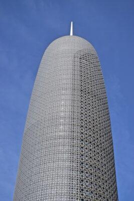 Building à Doha au Qatar