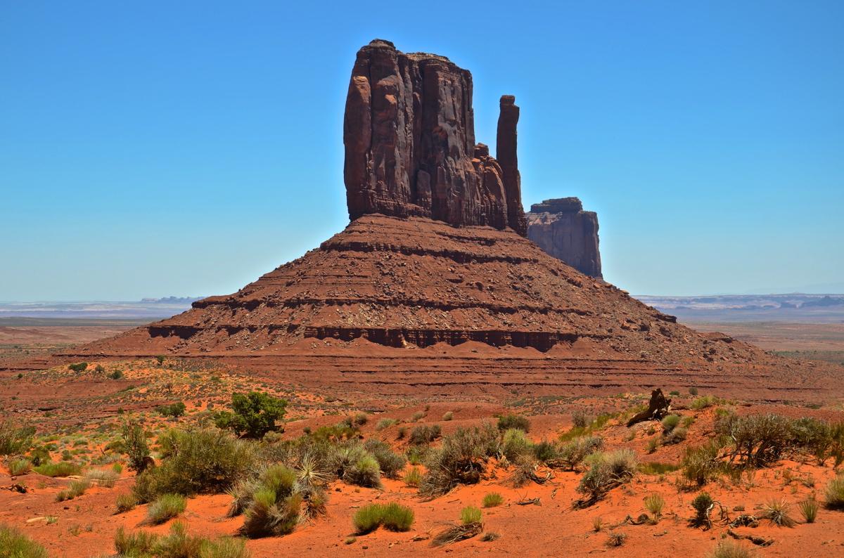 Butte à Monument Valley