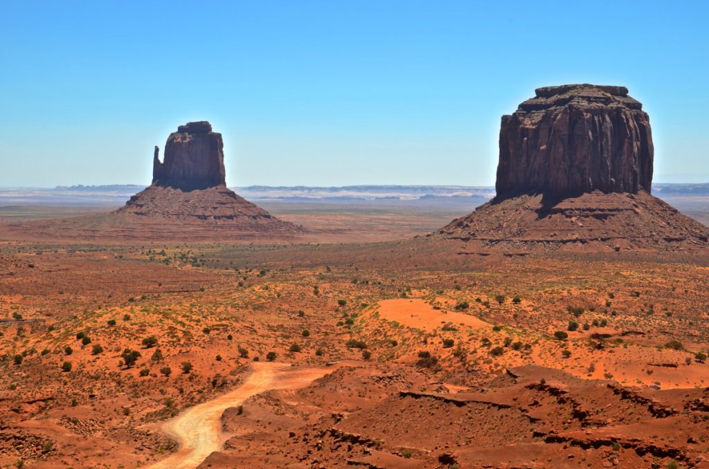 Buttes de Monument Valley