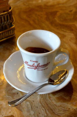 Espresso à Turin en Italie