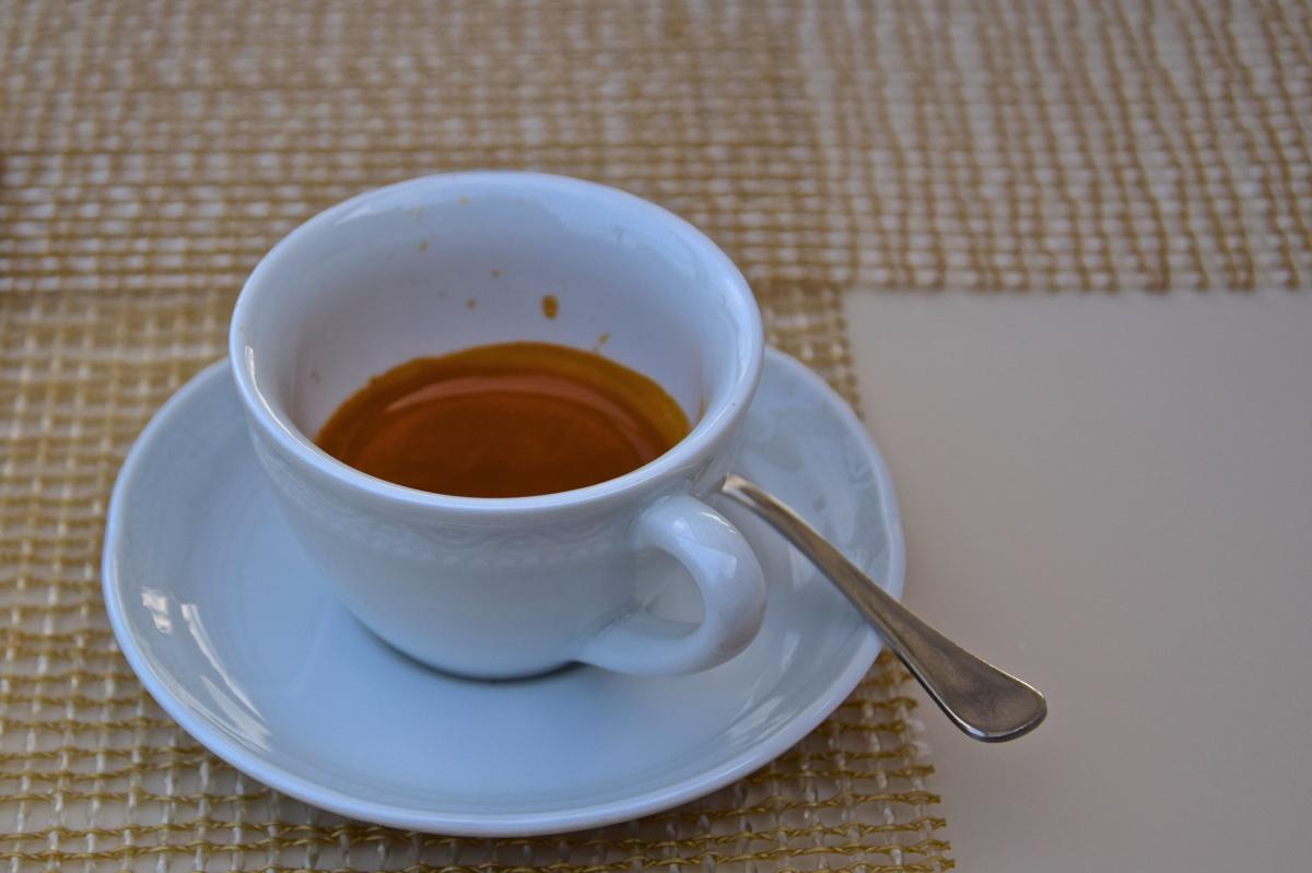 Espresso au Palazzo Manfredi