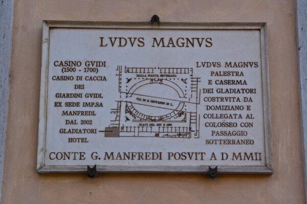 Ludus Magnus à Rome